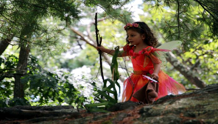 Hundreds of residents from Malden and surrounding cities and towns attended Malden's fifth Annual Fairy House event at Pine Banks Park