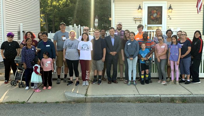 Nice turnout at the first ever Jacob Street block party. Thank you to  Steve Winslow for the invite and organizing this neighborhood event!