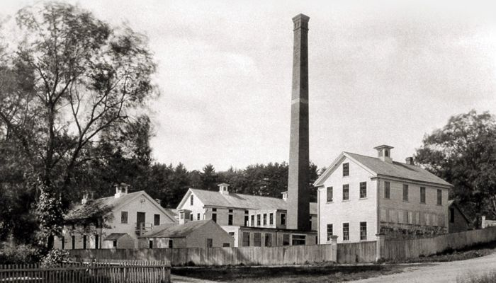 Industrial Eden: The Legacy of Haywardville on Spot Pond Brook. The program is now at the Malden Public Library