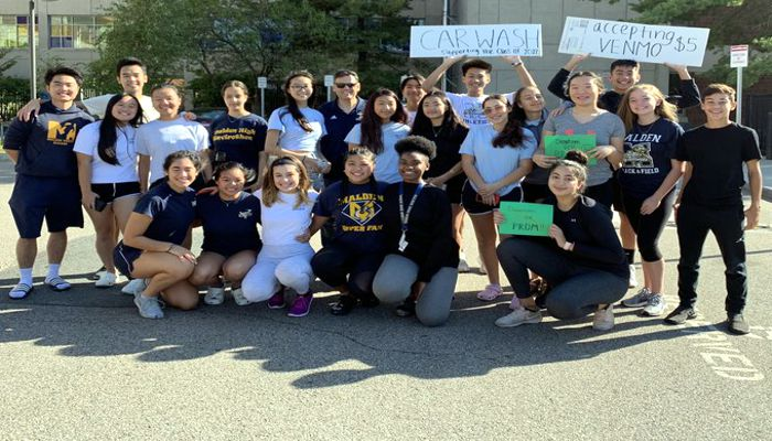 The feel-good story of the day is with the MHS Class of 2020 volunteering to share the proceeds of their car wash with the Class of 2022 who can't fundraise until their class advisor is selected