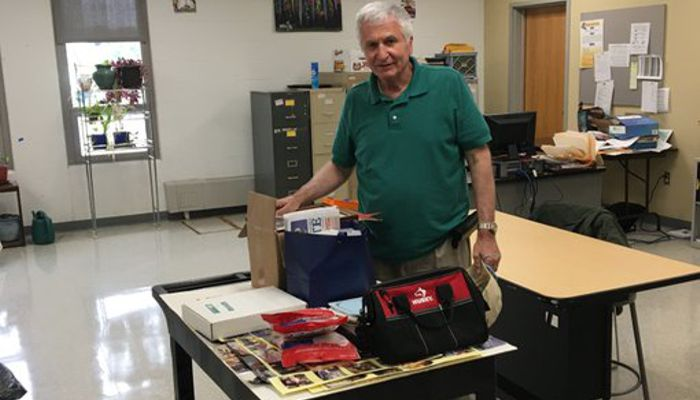 After 38 years of educating the students of MHS, Ron Janowicz is heading home for the last time, at 4:20 on his last day. Best wishes for a happy retirement. You will be missed.