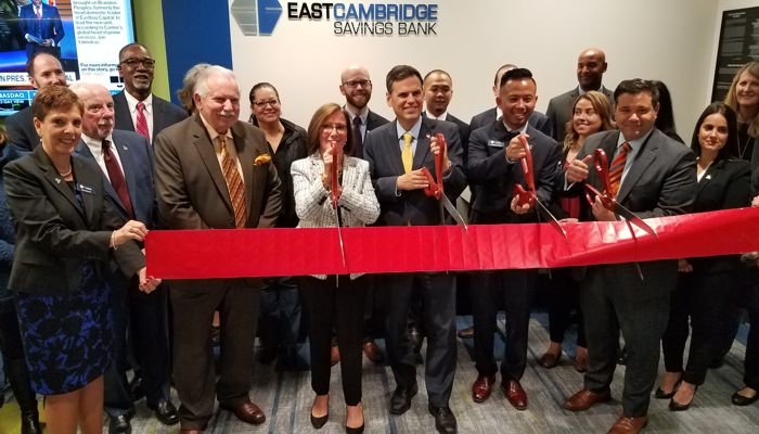 Mayor Christenson says Congrats to  East Cambridge Savings Bank on their grand opening and I can already tell they are going to be great community partners by their donations to both Bread of Life and Triangle Inc