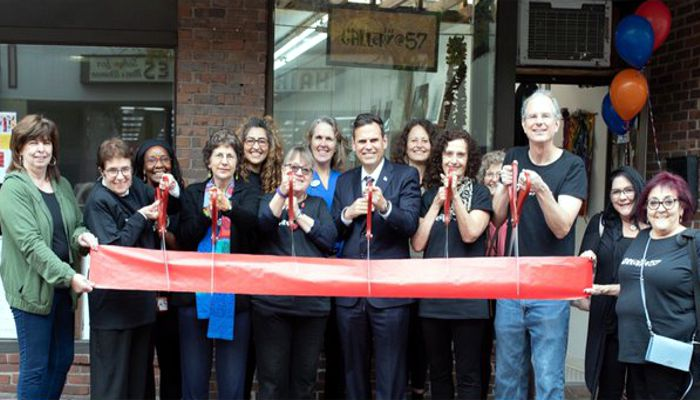 "Mayor Christenson says it is only fitting on the day known as ""Arts Matter Day"" that we celebrate and congratulate  the gallery at 57 on their grand opening! For more info, visit http://thegalleryinc.com"