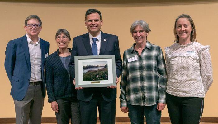 Mayor Gary Christenson Awarded the Mystic Municipal Prize
