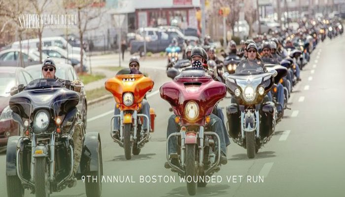 Wounded Vets Run Sunday May 19th. Ends at Anthony's of Malden at 2:00 PM.  All are welcome
