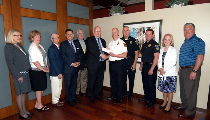 Mayor Christenson says Thank you to the Adelaide Breed Bayrd Foundation for providing a $30,000 grant to Malden Police and Malden fire for equipment and training!