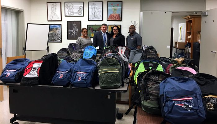 Thank you to Agero Services for their VERY generous donation of 100 backpacks filled with school supplies!! This will make a huge difference for our students
