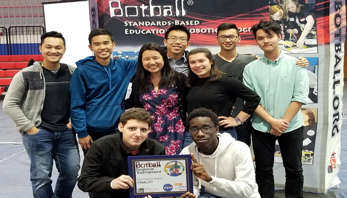Malden High School Robotics Team placed 5th out of 25 schools.The Botball® Educational Robotics Program engages middle and high school aged students in a team-oriented robotics competition, and serves as a perfect way to meet today's new common core standards.