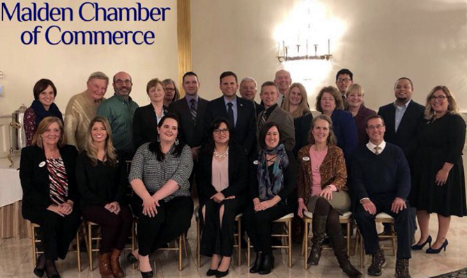 Malden Chamber Board of Directors for 2018. Housing Families' Patty Kelly is proud to serve as President and she is looking forward to an exciting year!