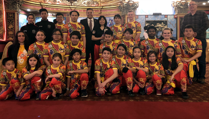 Congratulations to Wah Lum Malden on winning second place in the National Dragon Dance Championship