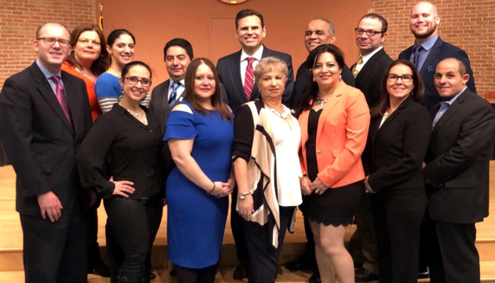 Mayor Gary Christenson says Congrats to Guillermo S. Hamlin, Mexican El Potro, and My Little Best Friends on being honored for promoting the Latino culture at the North Shore Hispanic Association event!