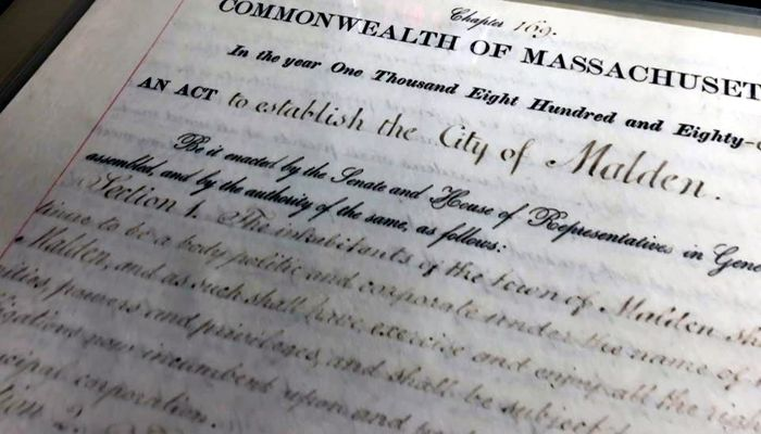 Mayor Christenson and the City Council are pleased to report that our City Charter is now available online at http://www.cityofmalden.org/citycharter and special thanks to former longtime city employees Karen Anderson and Sheila Fermano for helping us to achieve this goal