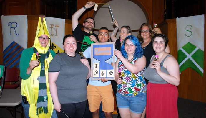 MaldenPublicLibrary says A big thank you to everyone who attended our 18+ Harry Potter Party on Tuesday night and an equally big thank you to everyone who helped make it happen! You all help make libraries great! Congratulations to Ravenclaw for winning the House Cup!