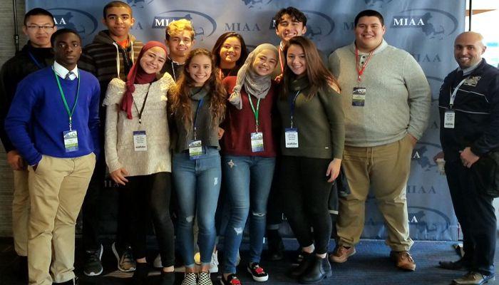 MHS Athletics 24th Annual Student Leadership Summit  Malden High School Representatives! Future leaders!