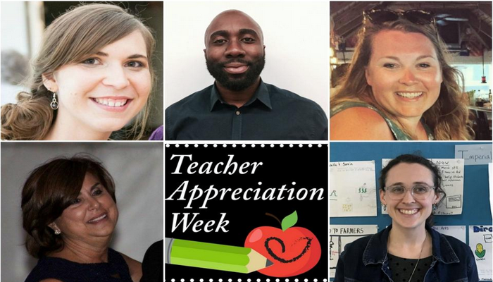 May 7-11 is Teacher Appreciation Week, a time to not only recognize, but also thank teachers for what they contribute to the lives of students.