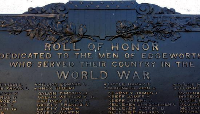 In honor of the 100th anniversary of World War I, the City of Malden is collaborating with Malden Veteran organizations including the Jewish War Veterans and Irish American Club to restore and expand the WWI Monument located in Devir Park