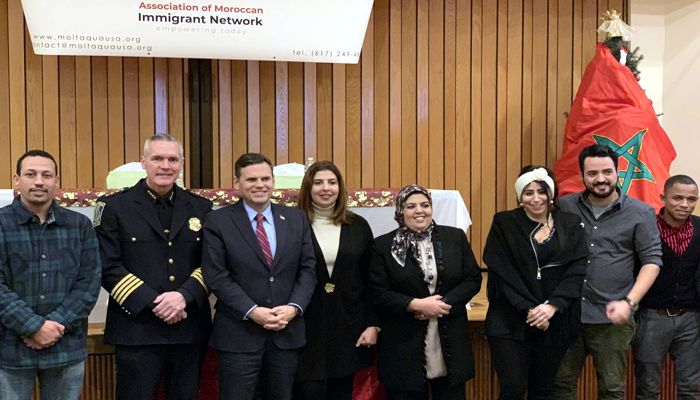 Mayor Christenson said it was Great to be on hand with Malden Police Chief for the Association of Moroccan Immigrant Network's First Annual Conference!