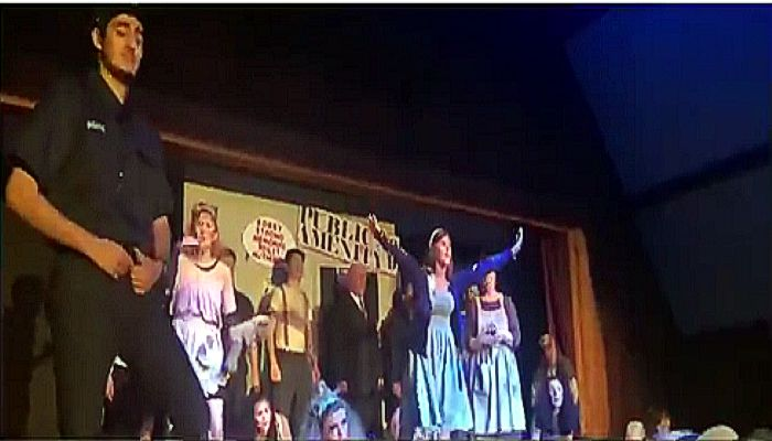 2nd Stage Productions performance of Urinetown at St. Paul's Parish with several recent MHS graduates in leading roles in this satirical comedy musical!