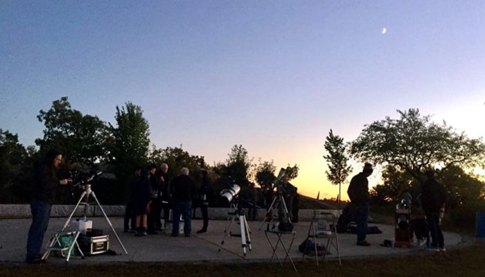 The third annual Sunset, Storytelling and Stargazing event at Waitt's Mount was a blast!