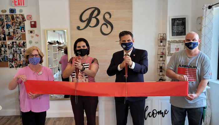 Mayor Gary Christenson recently attended the grand opening ceremony of Beca Shoes located at 242 Main Street. Beca Shoes prides itself on providing customers with quality service, care and respect along with the style, comfort and fair pricing of shoes coming straight from Brazil. Hours of operation are Monday through Saturday 10AM-7PM. For more information please visit www.bekashoes.com